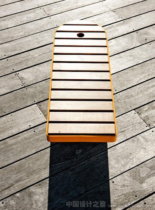 伦敦设计节 StokkeAustad 公共长凳 旋转 产品创意