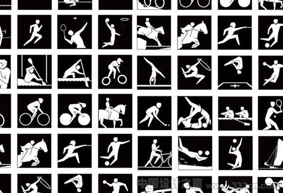 2012 伦敦奥运 图标 图形 形象设计
