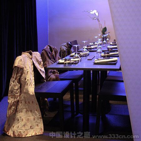 餐厅 室内 装修 法国 樱花树下