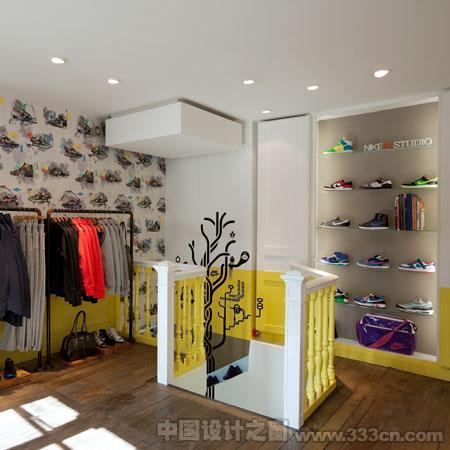 耐克 专卖店 品牌店 装修 室内设计
