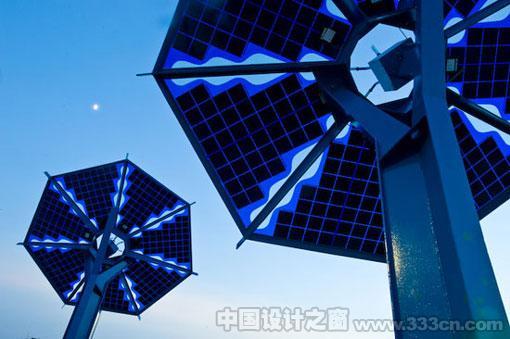 美国 德克萨斯州 奥斯汀市 太阳能电池板 环保