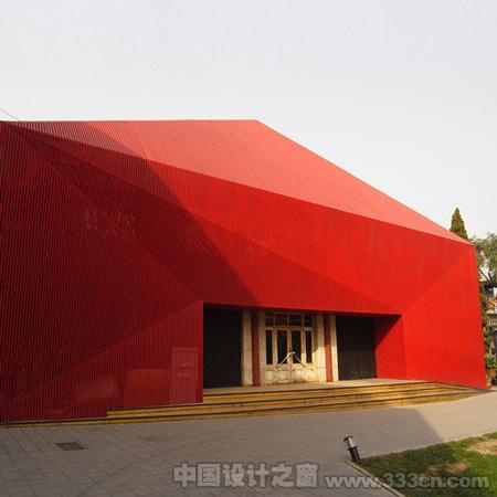 韩国设计师Chiasmus Partners Red-Diamond 展览 公共设施