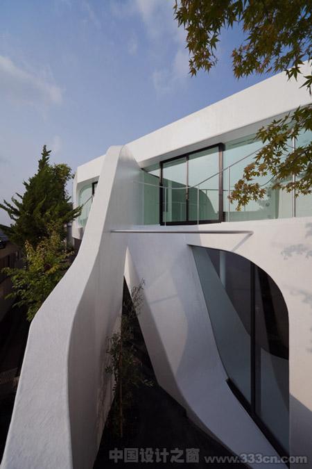 日本 横滨 celluloid-jam 住宅 建筑设计
