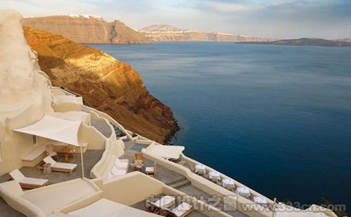 圣托里尼岛 神秘旅馆 设计 创意 建筑