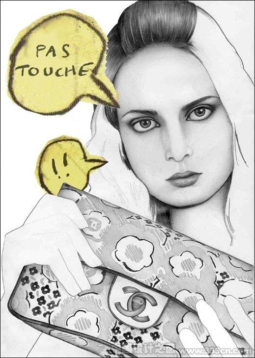 时尚 插画家 尼古拉・特温坦 法国 杂志