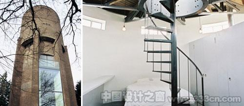 Zecc 水塔别墅 现代住宅 旧建筑改造 住宅设计