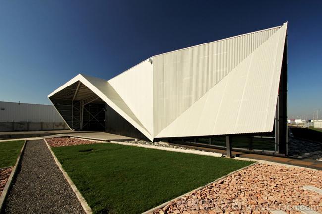 tFPS 圣地亚哥 智利 莱昂纳多苏亚雷斯莫利纳 仓库设计
