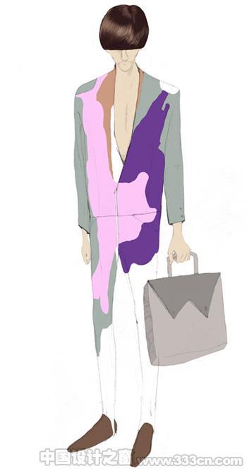 DINA 时尚 服装 商业插画 创意
