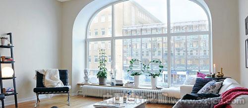 瑞典 白色居所 Alvhem 小户型公 室内设计