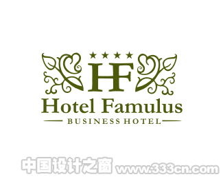来自巴西的酒店LOGO标志设计