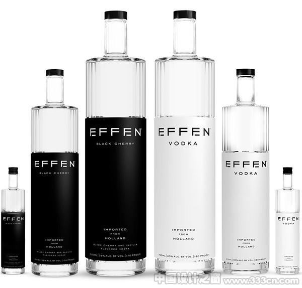 极具娱乐精神的Vodka伏特加酒包装设计