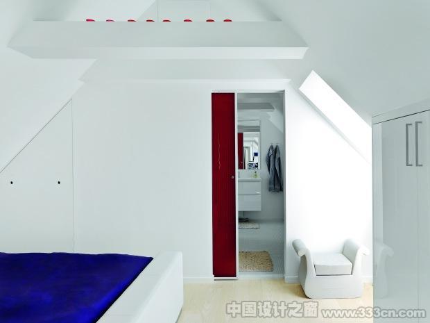 小小阁楼住宅的精彩室内设计