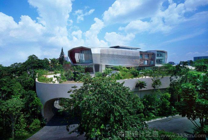马来西亚吉隆坡的豪华大宅建筑设计