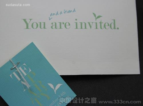 超级华丽的邀请卡片设计