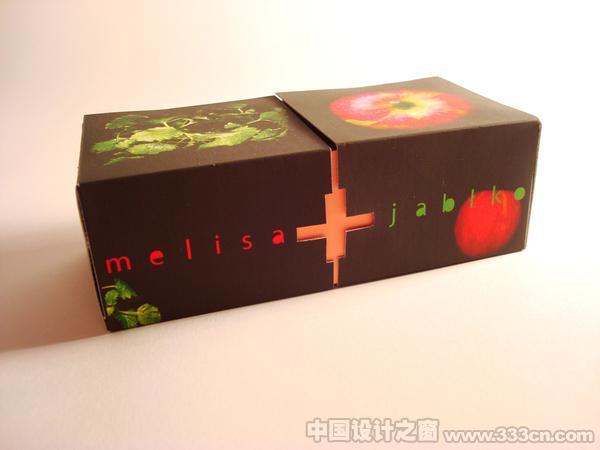 梅利莎水果茶精彩包装设计