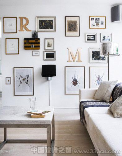 小清心室内装修攻略 用字母装点空间