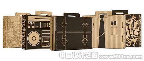 创意包装欣赏:纸袋和盒子-设计欣赏设计资讯-中国设计