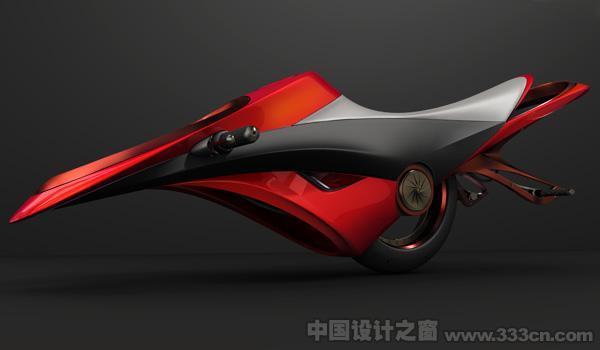超劲酷的空气动力驱动自行车--中国设计之窗