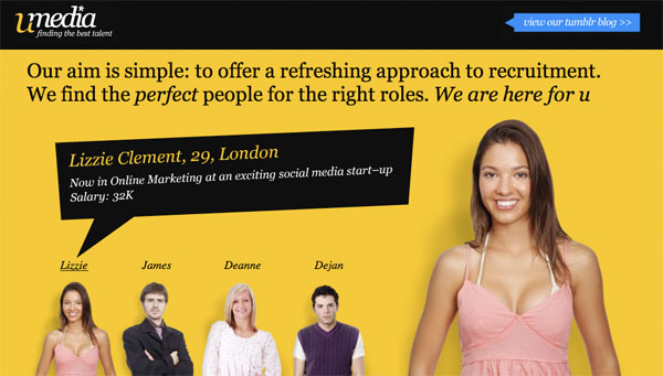 cleanbright1 30 Clean and Bright Website Designs