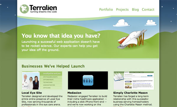 cleanbright11 30 Clean and Bright Website Designs