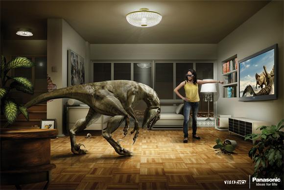 Panasonic 3D TV: Dino