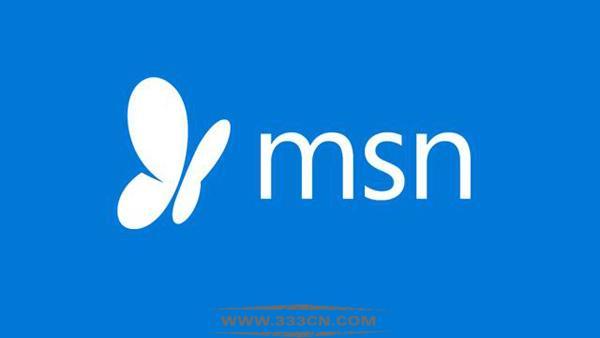 微软 MSN门户 网站改版 新LOGO 标识设计