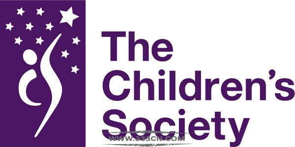 黑白配色 英国儿童协会 新LOGO 标识设计 创意