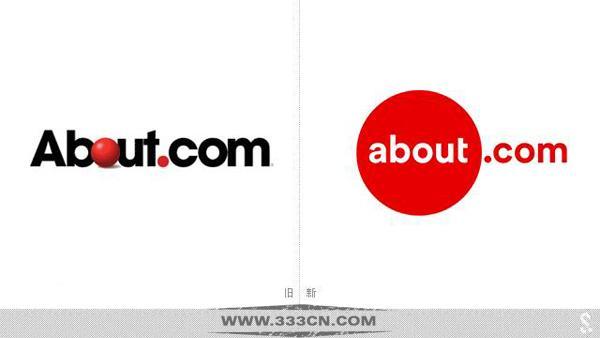 美国 原创内容生活网站 About.com 新LOGO 标识设计