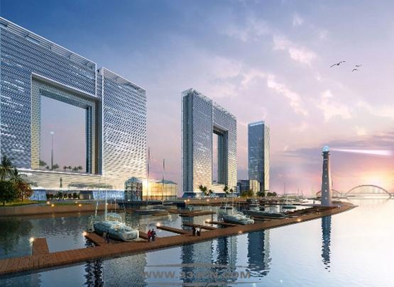 Atkins 广州设计 广州之窗 概念设计 英国阿特金