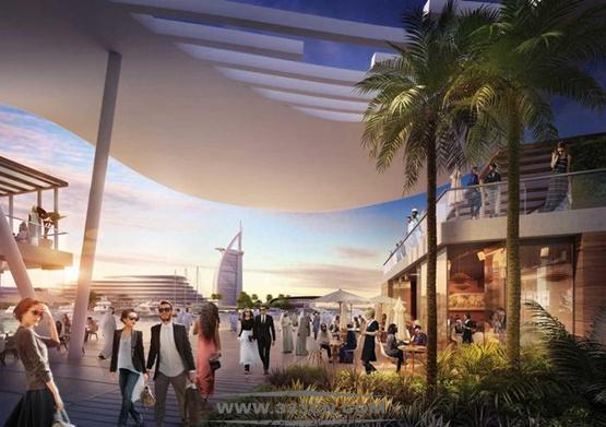 英国宝麦蓝建筑事务所 Broadway 迪拜 卓美亚海滩酒店 阿拉伯塔 豪华度假村