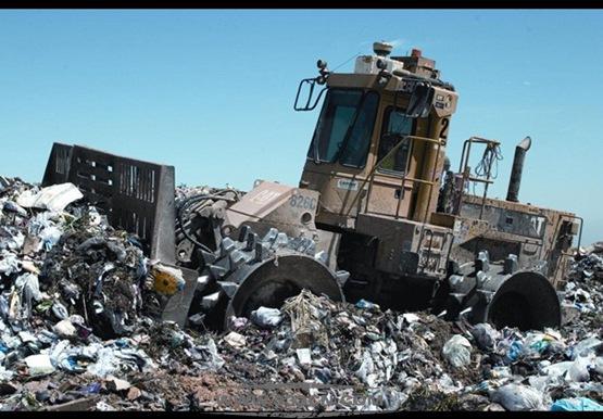 意大利 首都罗马 马拉格罗塔 垃圾填埋场 Malagrotta