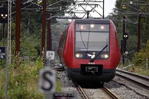 丹麦铁路 运营商 国家铁路 DSB 新LOGO