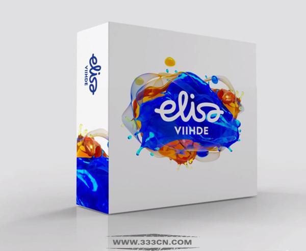 芬兰 知名电信运营商 Elisa 新标志 logo