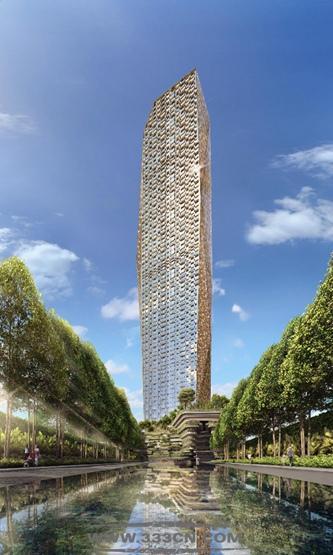 美国房地产 唐纳德-特朗普 孟买大厦 方案 印度