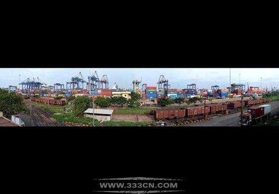 印度 集装箱港口 工商特区 总体规划 建筑设计