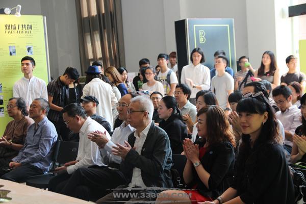 双城共创 设计新生 第一届 深港设计双年展 主题装置展开幕