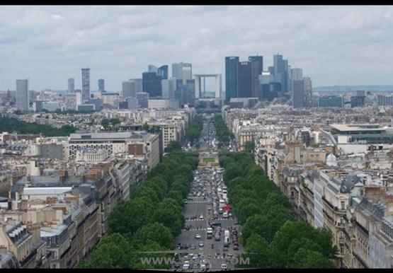 巴黎新凯旋门 地标性建筑 Grande-Arche 约翰-奥托-冯-施普雷克尔森 保罗-安德鲁
