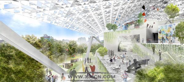 日本建筑师 坂茂 台南艺术博物馆 方案确定 绿色环保