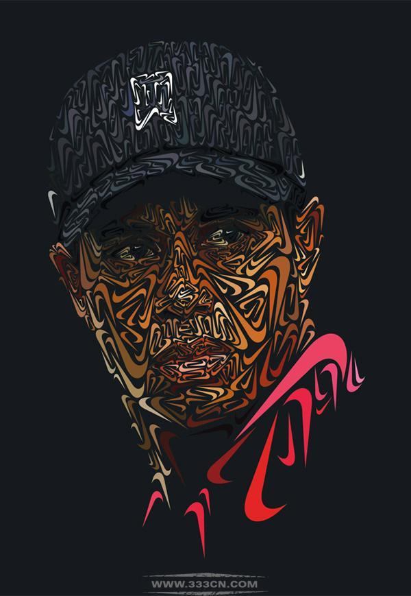 美国著名高尔夫球手 艾德瑞克・泰格・伍兹 TIGER WOODS