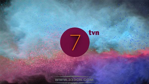 波兰 TVN7 电视频道 新LOGO 电视台标