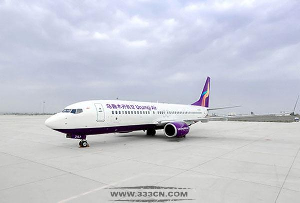 乌鲁木齐 航空新LOGO 飞机新涂装 创意