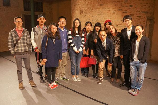 中国字体设计 战国栋 第十八届 意大利 佛罗伦萨文化