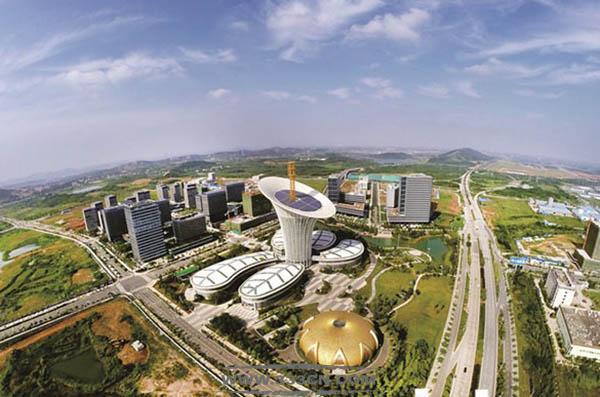 武汉光谷 未来科技城 武汉新能源研究院 绿色仿生建筑 罗沃特