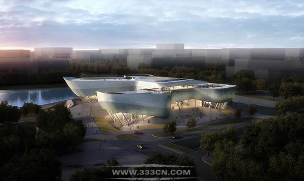playze schmidhuber 宁波展览中心 方案公布 宁波东部新区