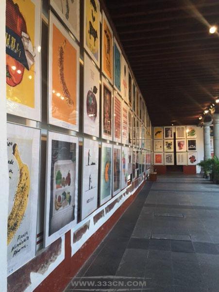 2014 第13届 墨西哥 国际海报双年展 展览现场