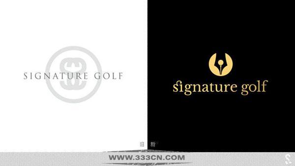 高尔夫 私人订制服务 Signaturegolf  公司新LOGO