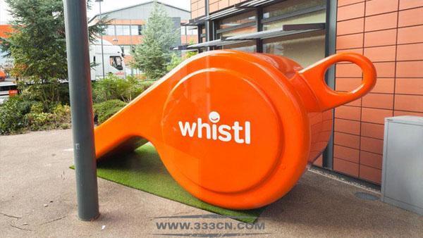 英国 TNT邮政 更名 Whistl 新LOGO