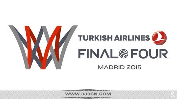 2014-15赛季 欧冠四强赛 官方logo 揭晓 标识设计