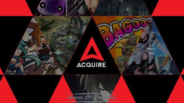 日本 游戏公司 ACQUIRE 新LOGO 标识设计