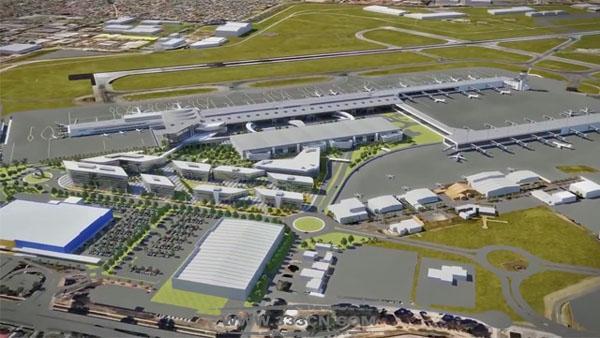阿德莱德机场 Adelaide Airport 新标志 logo